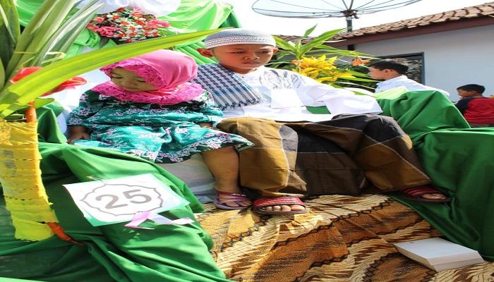 Sambut Maulid Nabi Muhammad SAW, LAZGIS Support Sunatan Massal di Magelang